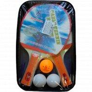Набор ракеток настольного тенниса.