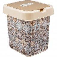 Контейнер для мусора «Декор» Марокко, 9 л.