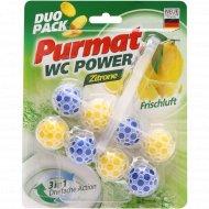 Чистящее средство «Purmat» для унитаза, лимон, 100 г