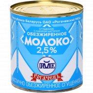 Cгущенное молоко «Рогачёвъ» частично обезжиренное с сахаром, 2.5%, 380 г