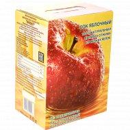 Сок «Яблочный» 100% натуральный, прямого отжима, 3 л.