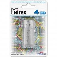USB флэш-накопитель «Mirex», 13600-FMUUSI04, 4GB.