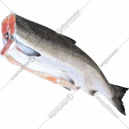Рыба свежемороженая «Горбуша» 1 кг., фасовка 1.3-1.6 кг