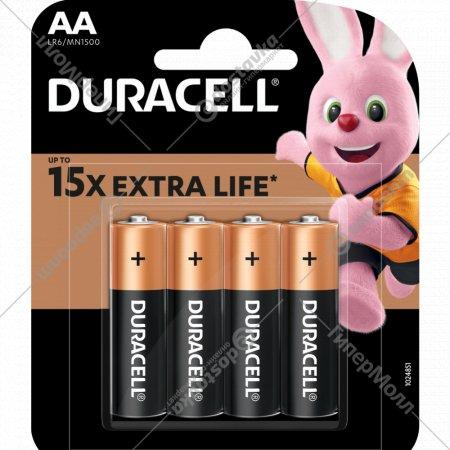 Элемент питания «Duracell» LR6/MN1500, 4 шт