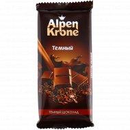 Шоколад «Alpen Krone» темный, 90 г.