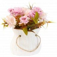 Цветы искусственные в горшке 11 см.