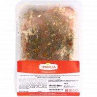 Полуфабрикат из свинины «Грудинка по-деревенски» охлажденный, 1кг., фасовка 1.05-1.2 кг
