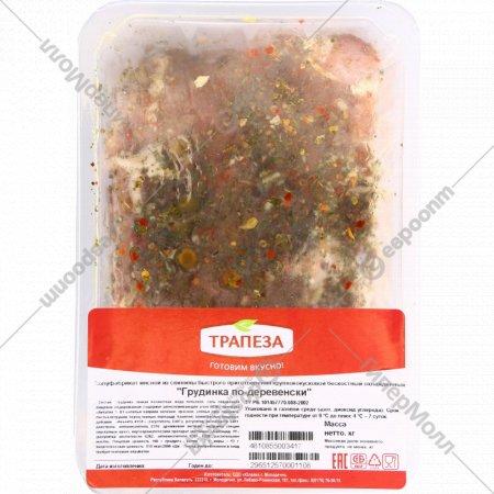 Полуфабрикат из свинины «Грудинка по-деревенски» 1кг., фасовка 0.9-1 кг