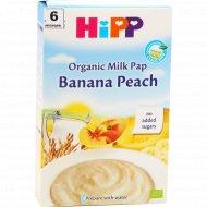 Каша молочная «Hipp» с бананом и персиком 250 г.