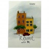 Тетрадь «Город Рим» А5, 48 листов, клетка