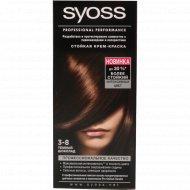 Крем-краска для волос «Syoss» темный шоколад, 3-8.