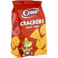 Крекер «Croco» с ароматом ветчины, 100 г.