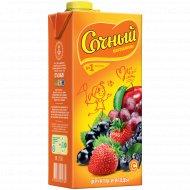 Напиток «Сочный витамин» дачные ягоды, 1.95 л.
