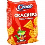 Крекер «Croco» с ароматом сыра, 100 г.