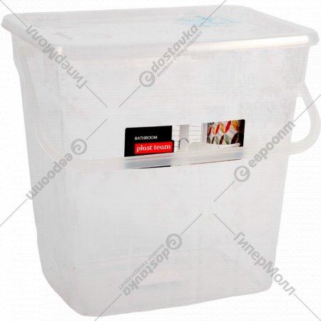 Ведро «Plast team» для стирального порошка, 10 л.