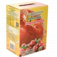 Сок «Яблочно-клюквенный» 100% натуральный, прямого отжима, 3 л.