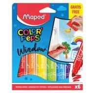 Фломастеры для окон «Color Peps Window» 6 штук