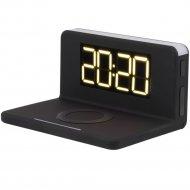 Часы-будильник с беспроводным зарядным устройством «Evolution» QWC-101.