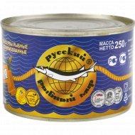 Консервы рыбные «Скумбрия» с добавлением масла, 250 г.