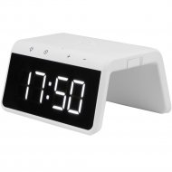 Часы-будильник с беспроводным зарядным устройством «Evolution» QWC-102.