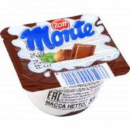 Десерт «Монте» молочный, шоколадный с лесными орехами, 55 г.