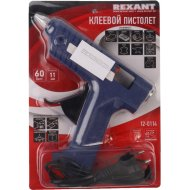 Пистолет клеевой «Rexant» 60 Вт, профи.