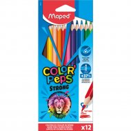 Цветные карандаши «Color Peps Strong» 12 штук