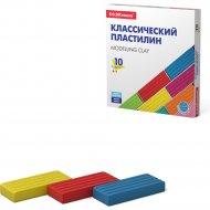 Пластилин классический «ErichKrause» 10 цветов.