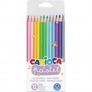 Цветные карандаши «Pastel» 12 штук