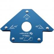 Магнитная струбцина для сварки «Hogert» HT3B651, 155х102х18.