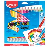 Цветные карандаши «Color' Peps Oops» 24 штуки