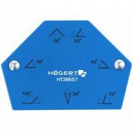 Магнитная струбцина для сварки «Hogert» HT3B655, 138х110х26.