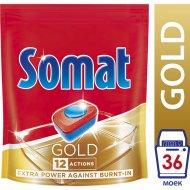 Таблетки для мытья посуды посудомоечной машиной «Somat» Gold, 36 шт.