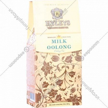 Чай байховый «Hyleys» с ароматом молока, крупнолистовой, 100г.