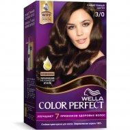 Крем-краска для волос «Wella Color Perfect» Самый темный шатен, 3/0.
