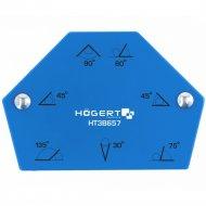 Магнитная струбцина для сварки «Hogert» HT3B656, 120х90х18.