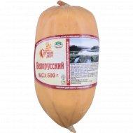 Сыр плавленый колбасный копченый «Белорусский» 40%, 500 г.
