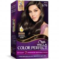 Стойкая крем-краска для волос «Wella Color Perfect» мокко, 3/75.