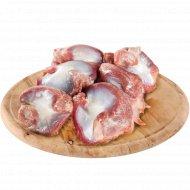 Желудки мышечные цыплят-бройлеров замороженные, 1 кг.