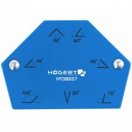 Магнитная струбцина для сварки «Hogert» HT3B657 на 6 углов.