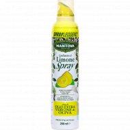 Масло-спрей оливковое «Mantova» с ароматом лимона, 200 мл.