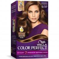 Крем-краска для волос «Wella Color Perfect» шоколад с карамелью, 5/37.