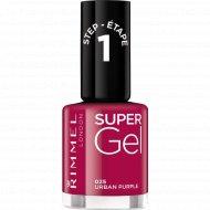 Rimmel Super Gel Nail Polish гель-лак для ногтей, тон 025 12 мл