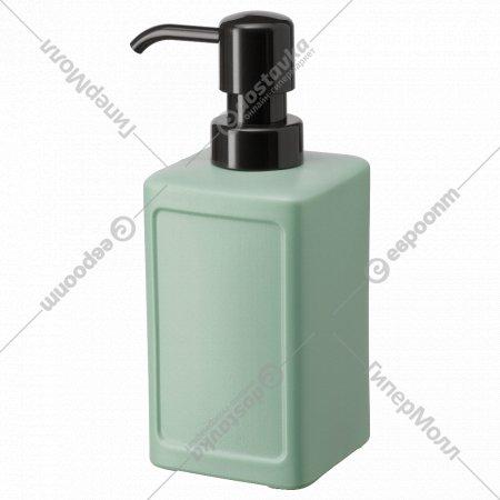 Дозатор для жидкого мыла «Ринниг» зеленый, 450 мл.