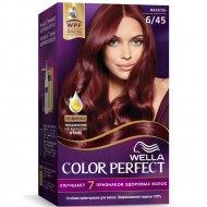 Стойкая крем-краска для волос «Wella Color Perfect» махагон, 6/45.