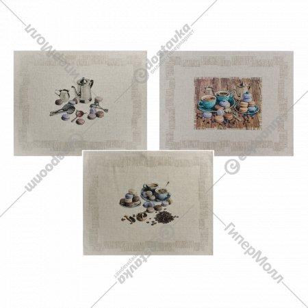 Комплект полотенец «Белорусский лен» 47х60 см, 3 шт