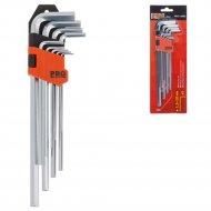 Набор ключей шестигранные «Pro Startul» Pro-4090, 1,5-10 мм. 9 шт.