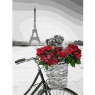 Живопись по номерам «Романтика в Париже» 30 х 40 см.