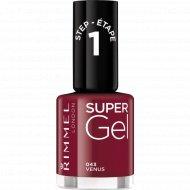 Rimmel Super Gel Nail Polish гель-лак для ногтей, тон 043 12 мл