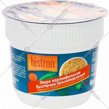 Пюре картофельное быстрого приготовления «Bistron» с гренками, 40 г.